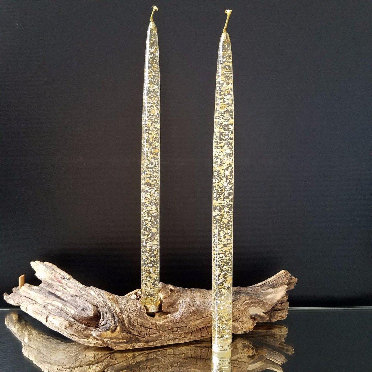 #Vintage Acrylic Gold Flecked #Candlesticks #homecoming #home  http://www. ebay.com/itm/1424242833 92?ssPageName=STRK:MESELX:IT&amp;_trksid=p3984.m1555.l2649 &nbsp; … <br>http://pic.twitter.com/cu8gyWfzUg