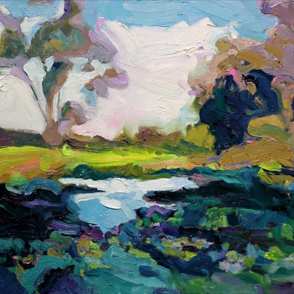 """sunny morning in the hunter"" 40X40 #artlover #modernart #artcollector #sunny #morning <br>http://pic.twitter.com/pc9rJfnA2N"