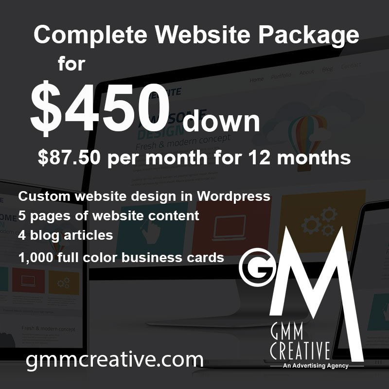 Don&#39;t let lack of funds hold you back any longer. #WebsiteDesign for #SmallBusiness owners for just $450 down.  http:// gmmcreative.com  &nbsp;  <br>http://pic.twitter.com/leapVaeU8o