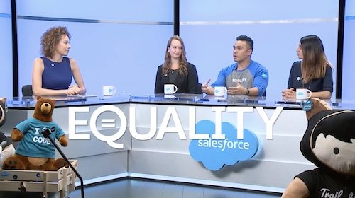 We're Dreaming of Equality, Giving and Big Pitches. #Dreamforce #Salesforce  http:// sforce.co/2xVkDad  &nbsp;  <br>http://pic.twitter.com/5aTrzCeFQP