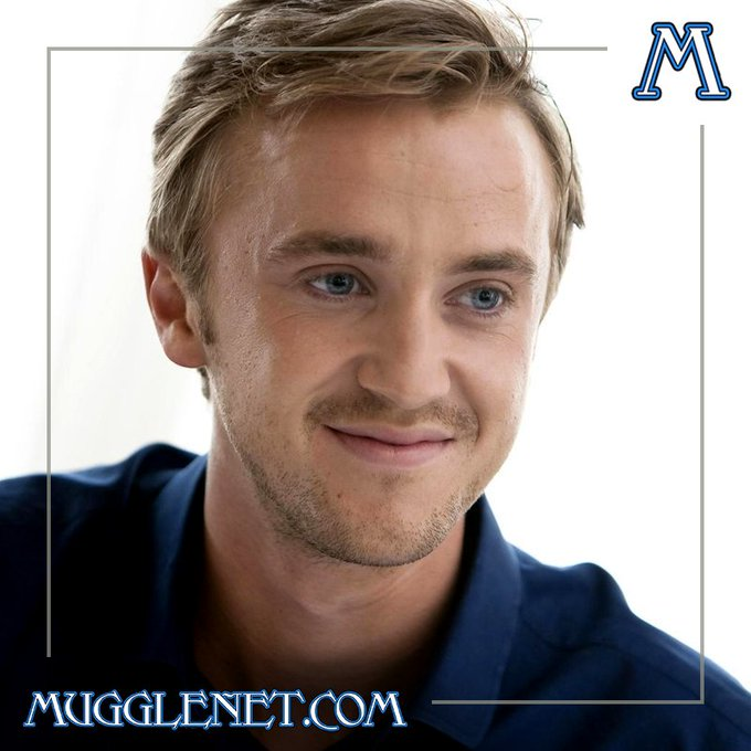 Happy birthday to the wonderful Tom Felton ( who of course played Draco Malfoy in the films!