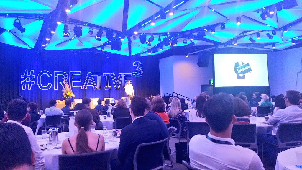 &quot;We failed to make lasting roots&quot; Steve Johns @Pebble at #Creative3. By relying too much on #kickstarter &amp; not cracking the #retail setting. <br>http://pic.twitter.com/yPWFSwpFyT