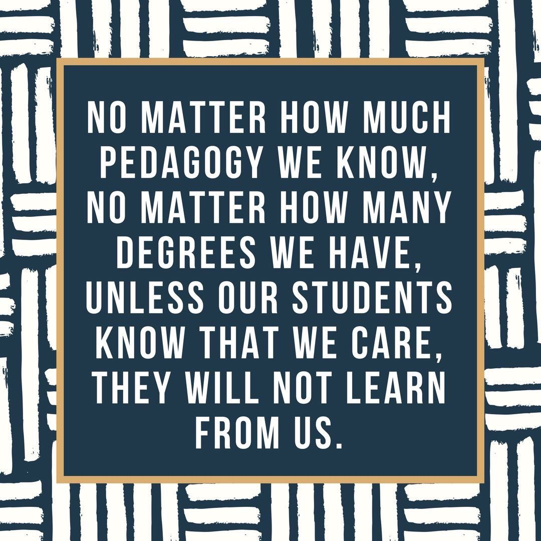 #THISiswhy every single thing you say matters. They believe you. Know what they need. Do not judge. Make their day a GREAT one. #Teachers <br>http://pic.twitter.com/6zrNcIycf2
