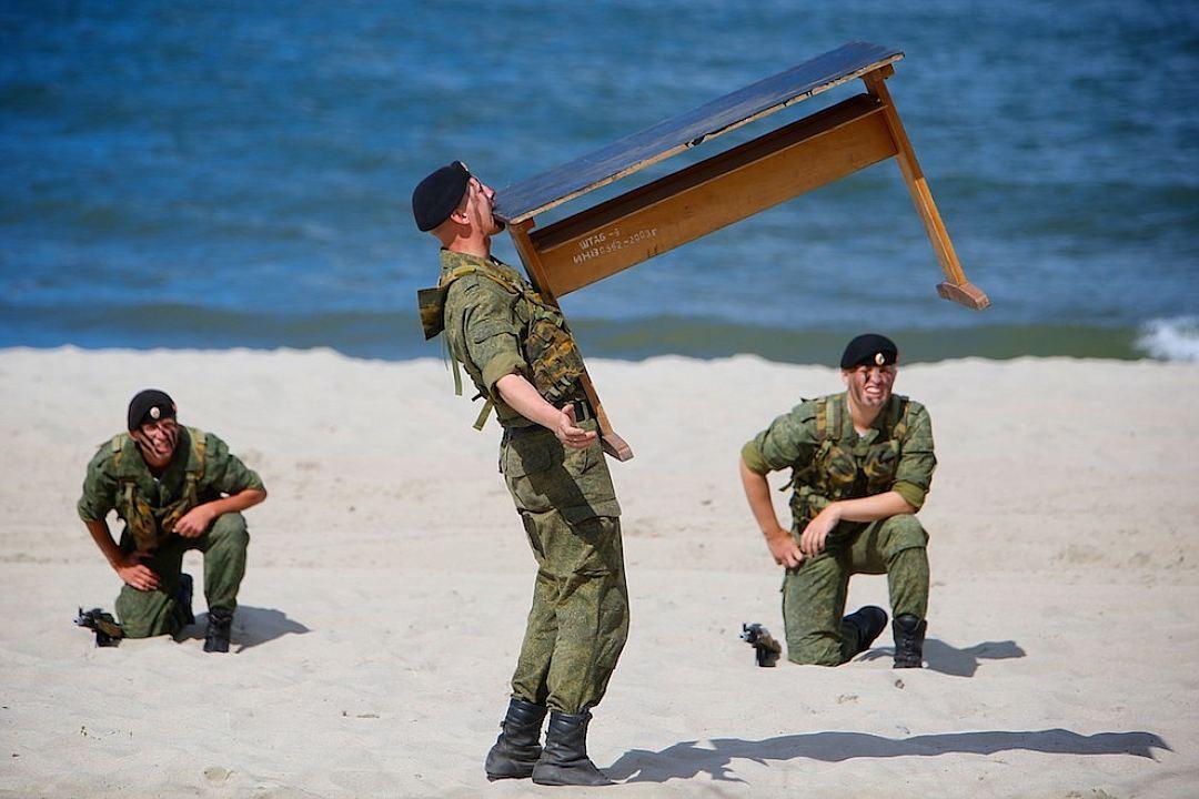 Веселые картинки морская пехота разделение