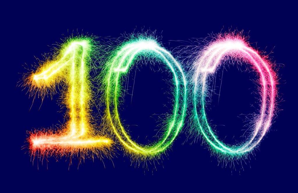 100 лет картинки в пнг