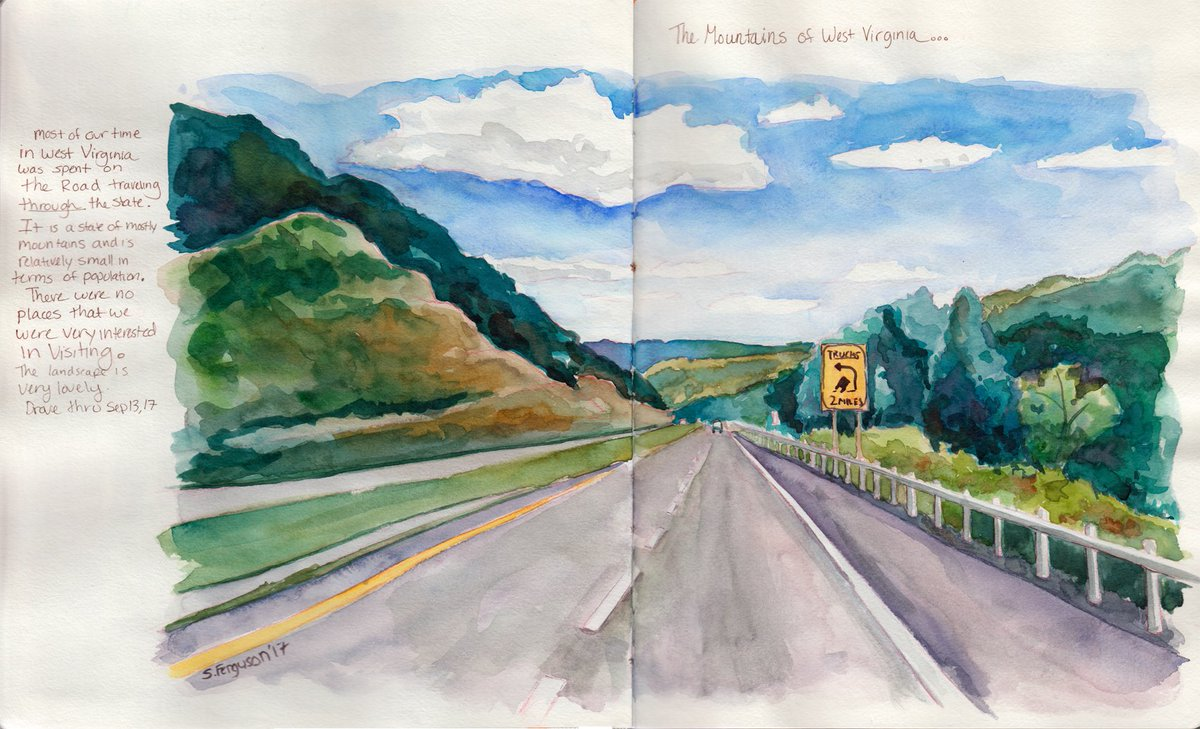 More #painting #travels #journal #watercolor<br>http://pic.twitter.com/0dfObKPpmM