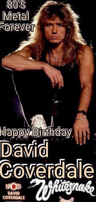 Happy Birthday David Coverdale     legend