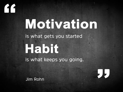 Habits are what counts - take on success or take on failure depending on the habits you choose #smallbusiness #leadership #success<br>http://pic.twitter.com/w17tOpMwHJ