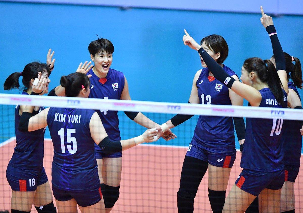 오늘 한국시간으로 저녁 8시반 SPOTV에서 생중계로 여자배구 보실수 있어요📺 여자배구 화이팅🇰🇷❣️ #세계여자배구대회예선전 #worldchampionshipqualification