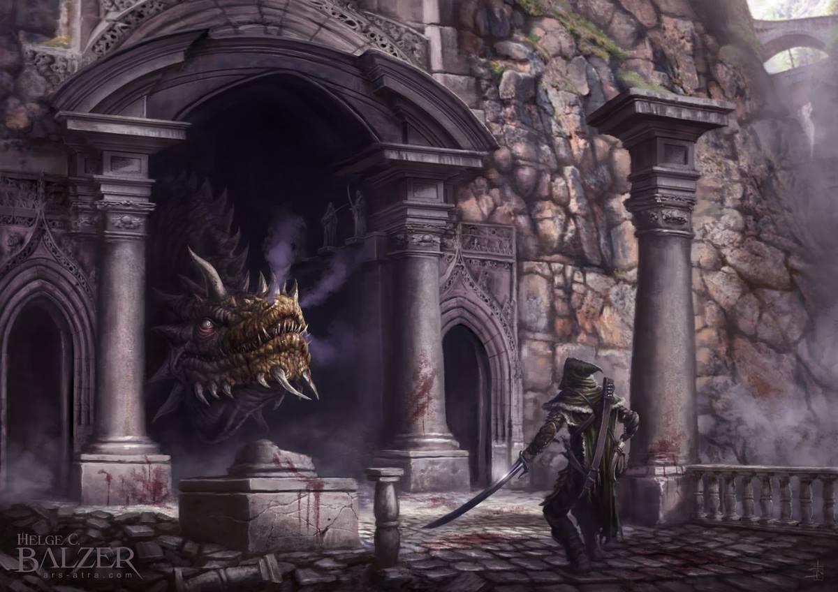 #Nargothrond bridge #Turin and #Glaurung #Silmarillion #ChildrenOfHurin #Tolkien<br>http://pic.twitter.com/IahpNFdzIP