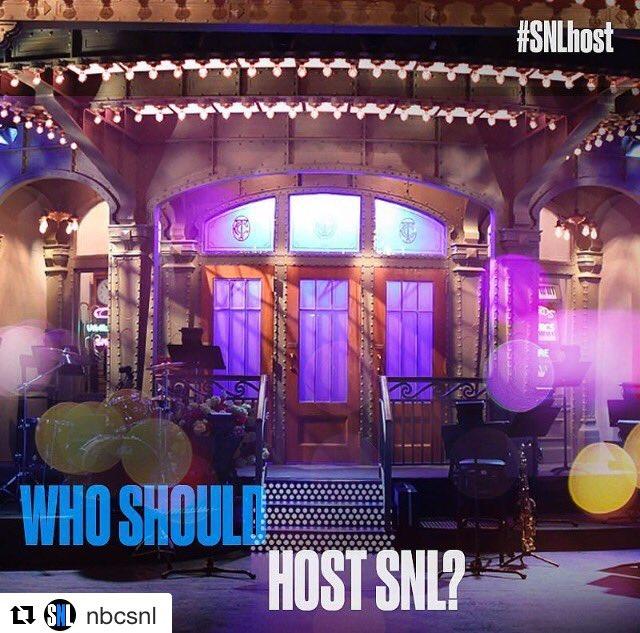 Who should host SNL?  #Me #IShould #Kattantohostsnl #Season43 #letsmakethisathing #makethisviral #Repost @nbcsnl #SNL #SNLhost<br>http://pic.twitter.com/rujQEbgVS5