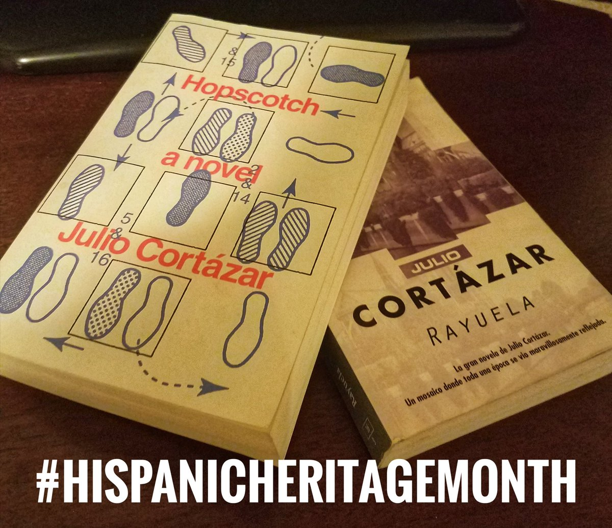 Day #7 Spanglish  #HispanicHeritageMonth  it means getting to read your favorite book in English &amp; Spanish #SHPE #SHPEDFW #STEM #Cortazar<br>http://pic.twitter.com/TqusbHoPiT