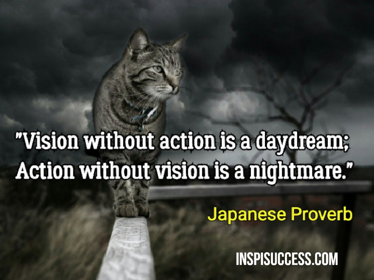 Vision without..  #quotes #quote #MakeYourOwnLane #defstar5 #quoteoftheday #motivation #inspiration #fridayfeeling #success #smm #Leadership<br>http://pic.twitter.com/sB0TrIy82U