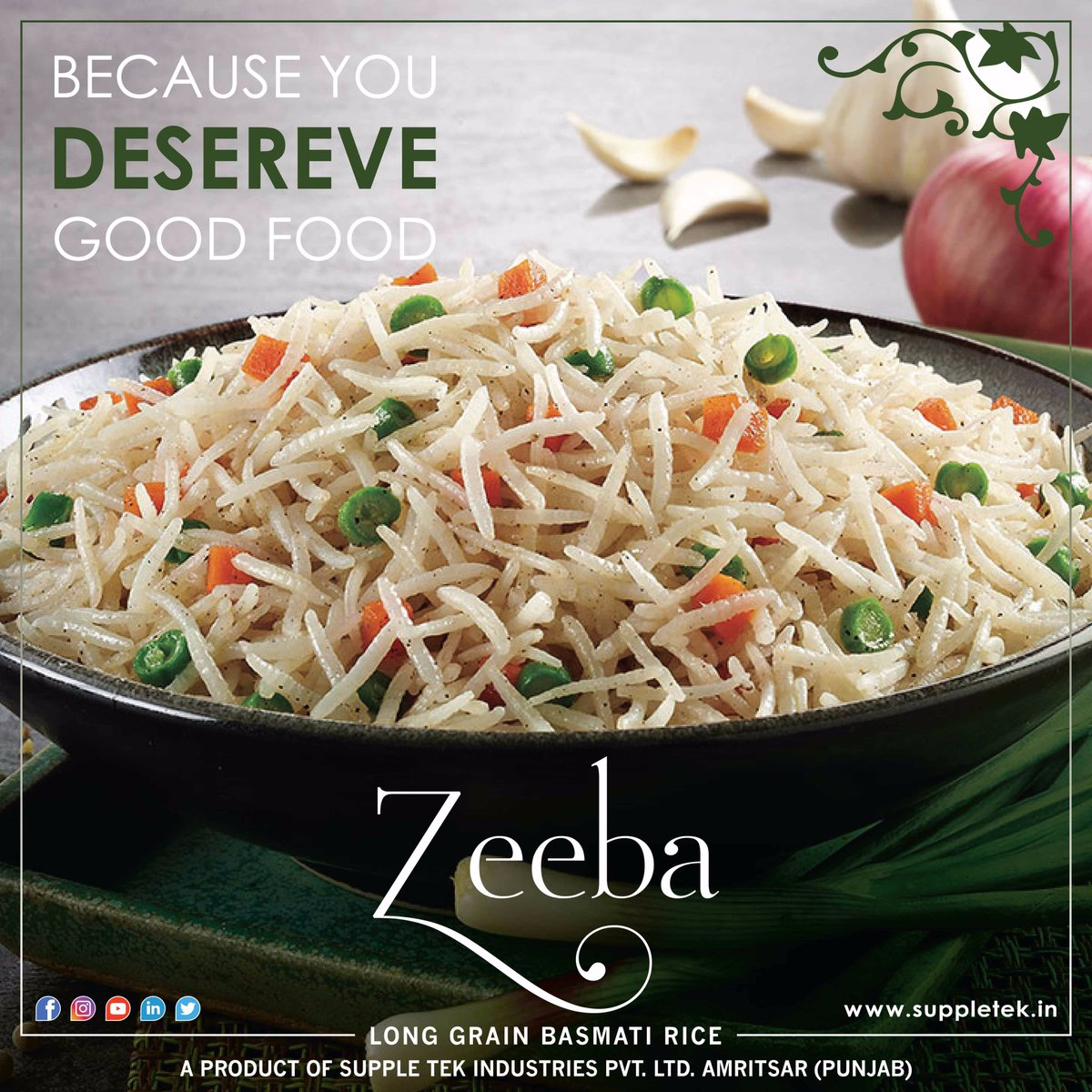 #Quality #Runs #Deep In Our #Grain!! Because you #deserve #Goodfood!! @RiceZeeba #suppletek  http:// bit.ly/2sH1C7i  &nbsp;    http:// bit.ly/2wEkveI  &nbsp;  <br>http://pic.twitter.com/yhm4YqhUF5