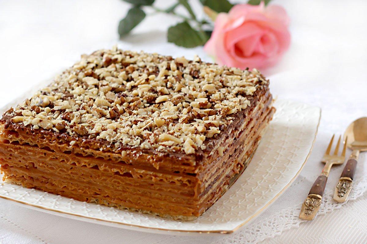 Рецепт торт греческий