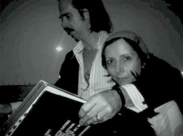 Here\s us, record shopping at the wax museum happy birthday nick cave