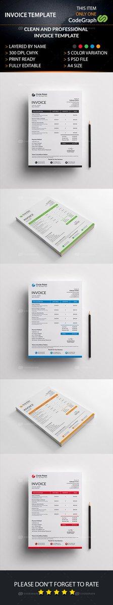 Invoice Template  https://www. codegrape.com/item/invoice/1 6398 &nbsp; …  #Print #Stationery<br>http://pic.twitter.com/h7sFAkIqts