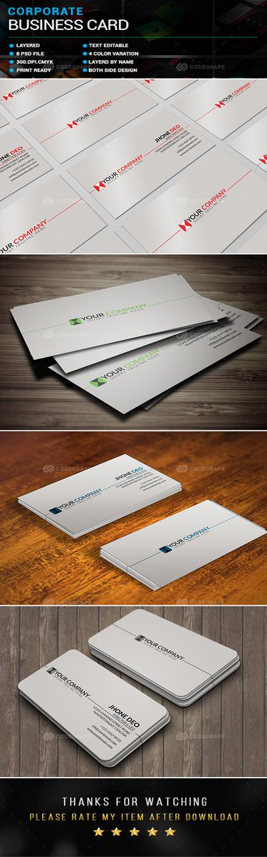 Corporate Business Card  https://www. codegrape.com/item/corporate -business-card/16401 &nbsp; …  #Print #Business #Cards<br>http://pic.twitter.com/V2s1Os8W8i
