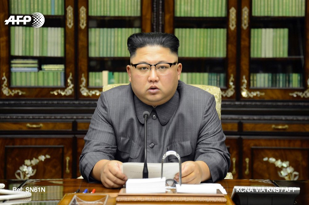 Corée du Nord: Trump est un homme 'mentalement dérangé' qui paiera 'cher'pour ses menaces, promet Kim Jong-Un https://t.co/uObnbluBFE #AFP