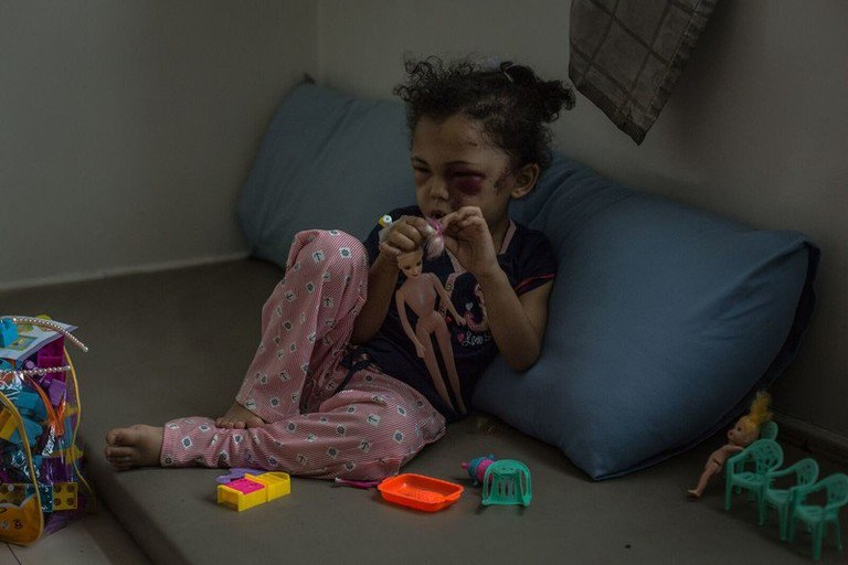 Yemen: New evidence reveals bomb that injured five-year-old Buthaina and injured her family was made in the USA https://t.co/tEANkDvIh4
