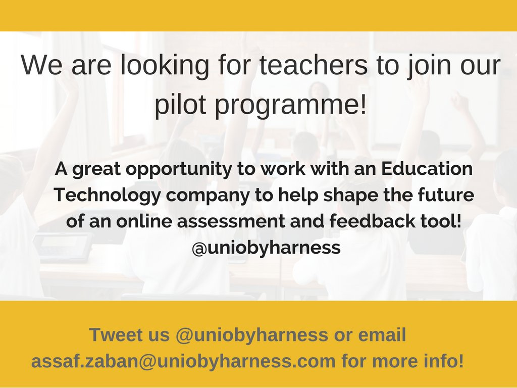 Want to join our #teacher pilot? We&#39;d love to hear from you!  #makeitinteractive #ukedchat #edchat #edtech @ICTEvangelist &amp; @rondelle10_b<br>http://pic.twitter.com/fhPiotBCbJ