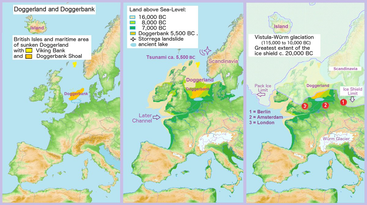 #Map shows land bridge between #GB and continental #Europe at last #IceAge about 6500 BC. Source:  https:// buff.ly/2f9RoFc  &nbsp;  <br>http://pic.twitter.com/BDWj9xnzYK