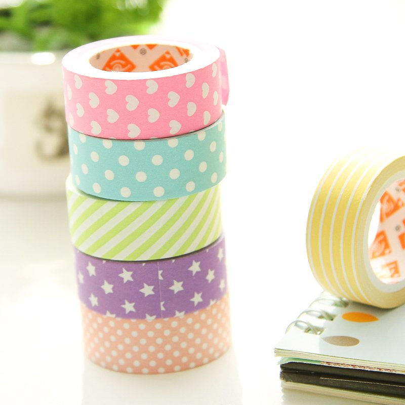 #paper 6 pcs Paper Pastel Washi Tape  http:// lovehippiecat.com/6-pcslot-decor ative-adhesive-tapes-paper-washi-tape-15mm5m-masking-sticker-for-scrapbooking-stationery-school-supplies-f944/ &nbsp; … <br>http://pic.twitter.com/GBIHfWaVKj