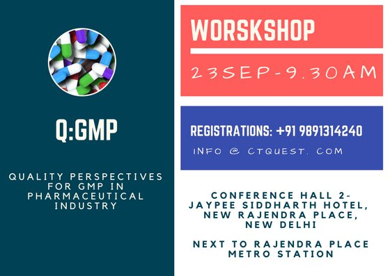 Product &amp; patient safety-guiding principles of GMP. Join us tomorrow for an interactive workshop for best practices. #pharma #GMP #Quality <br>http://pic.twitter.com/N81LxPW3L7