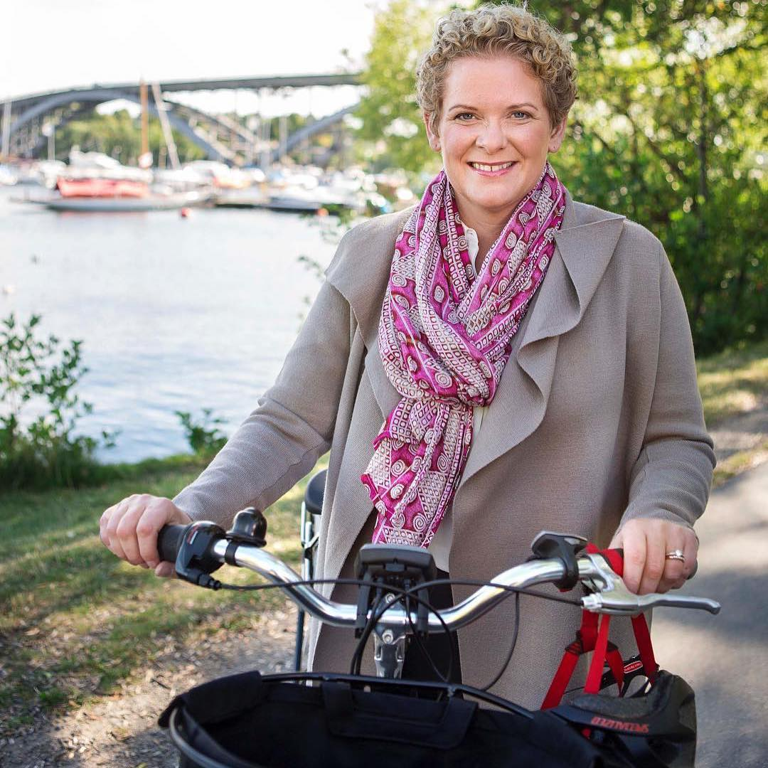 #Stockholm has over 750 km of cycle lanes, more than the distance from Stockholm to Copenhagen. 🚴♀️🚴 #Cities4Biking #CarFreeDay https://t.co/u7cpF7EJGK