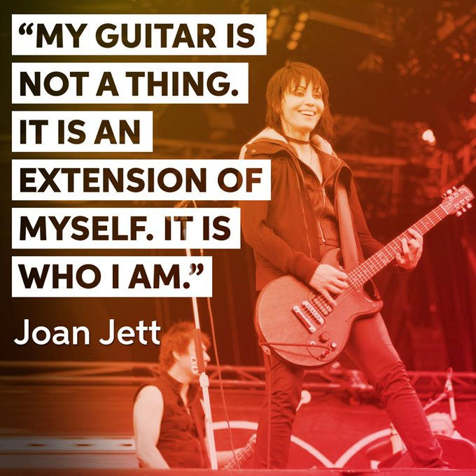 "Happy 59th birthday to the ""Queen of Rock \n\ Roll\"" - Joan Jett!"