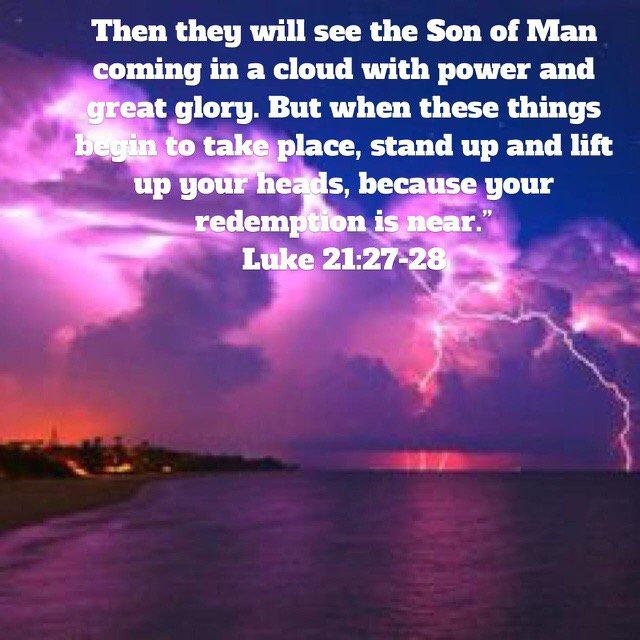 Kuvahaun tulos haulle Luke 21:27