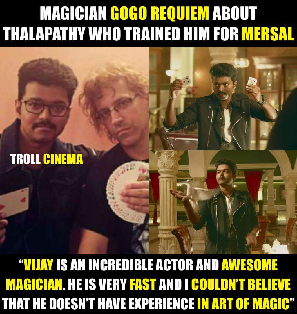 His Passion towards his work  #ThalapathyVijay @actorvijay  @GogoRequiem #MersalTeaser    WORLD RECORD MERSAL TEASER<br>http://pic.twitter.com/CRLbVguCL2