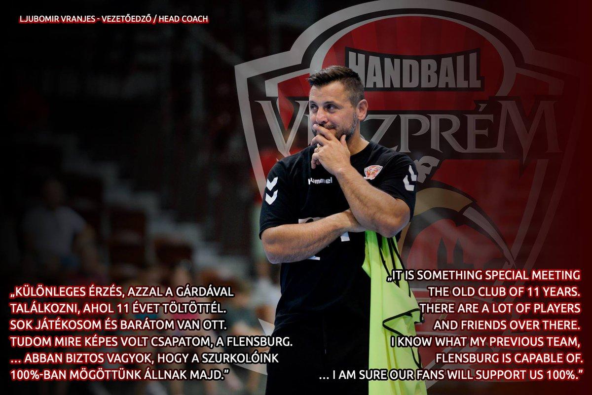 #HandballCity #WeAreVeszprem #WorkHardPlayHard https://t.co/jZoLFsrMmN