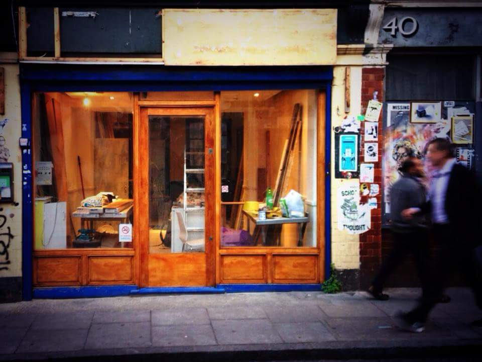 3 years ago today, @thecanvascafe looked like this. I never want to return to that building site - it&#39;s much more fun now! #socent #diy<br>http://pic.twitter.com/WkfNr7C9Br