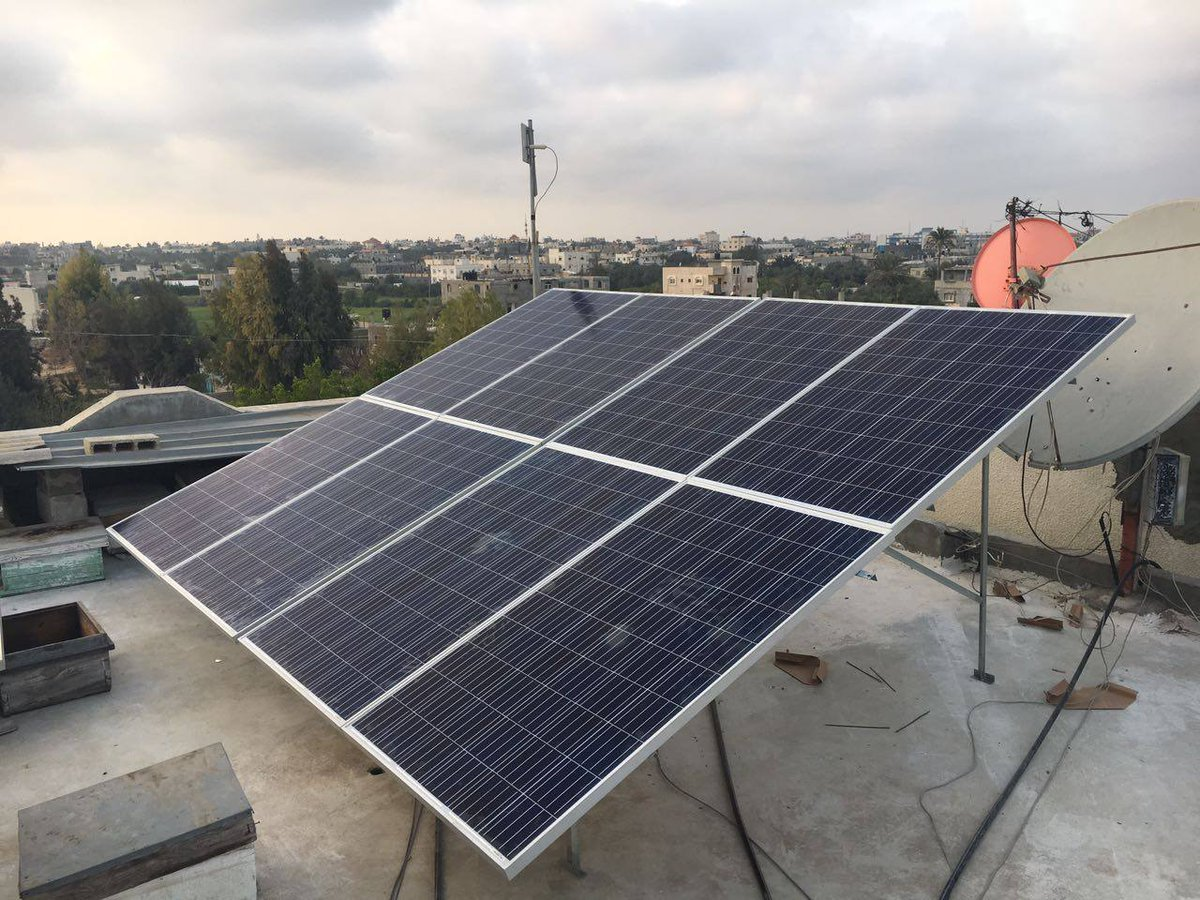 The light  at the end of the tunnel for #Gaza may be fueled by #solar panels:  http:// wrld.bg/MvFp30flcEz  &nbsp;    #Palestine #energy<br>http://pic.twitter.com/DQaMA8C60t