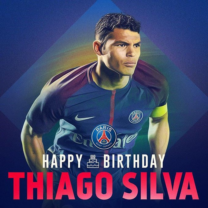 Happy Birthday! Thiago Silva
