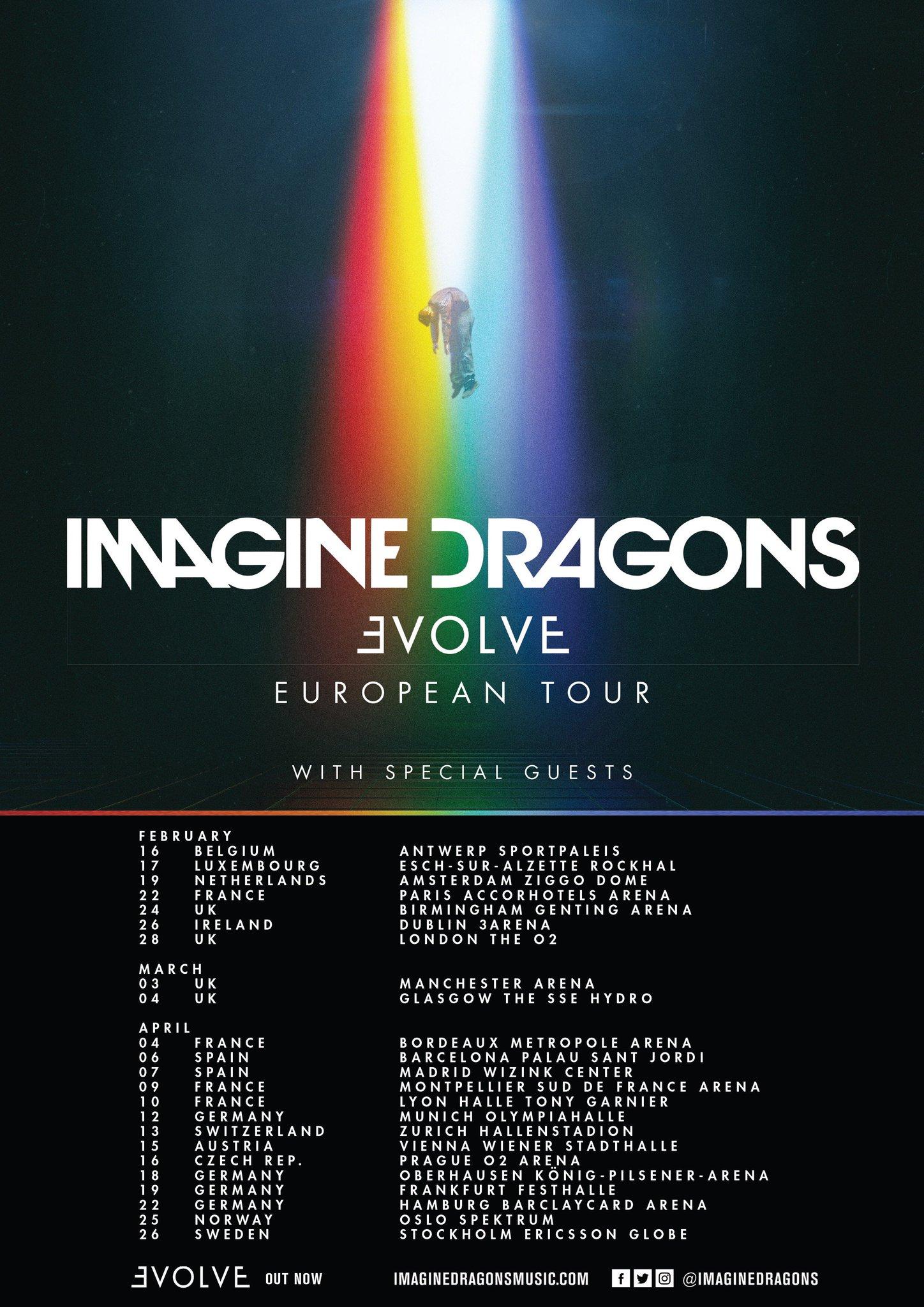 Imagine Dragons Tour  Uk