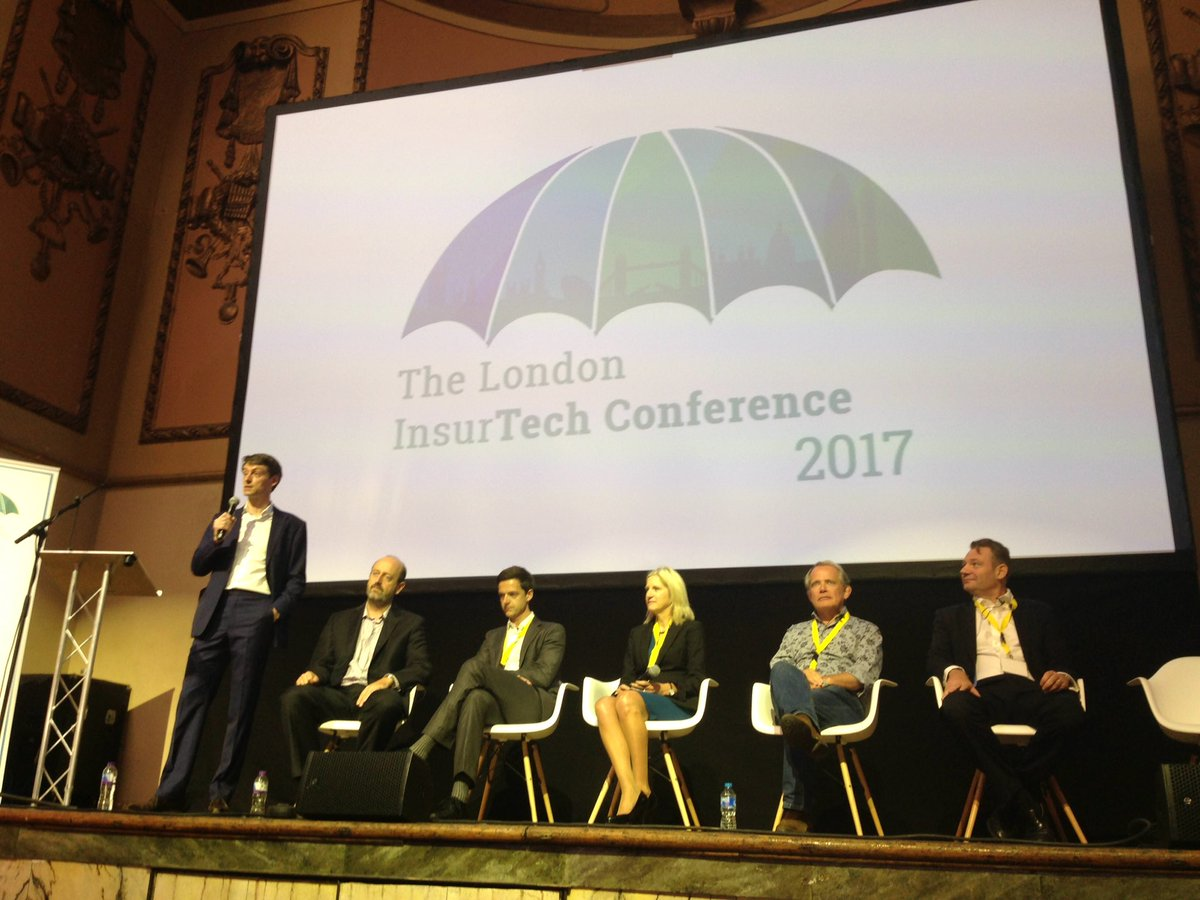 Some really esteemed players speaking on how #InsurTech can help disrupt the £67bn GWP London market. <br>http://pic.twitter.com/Vu09GQCny9