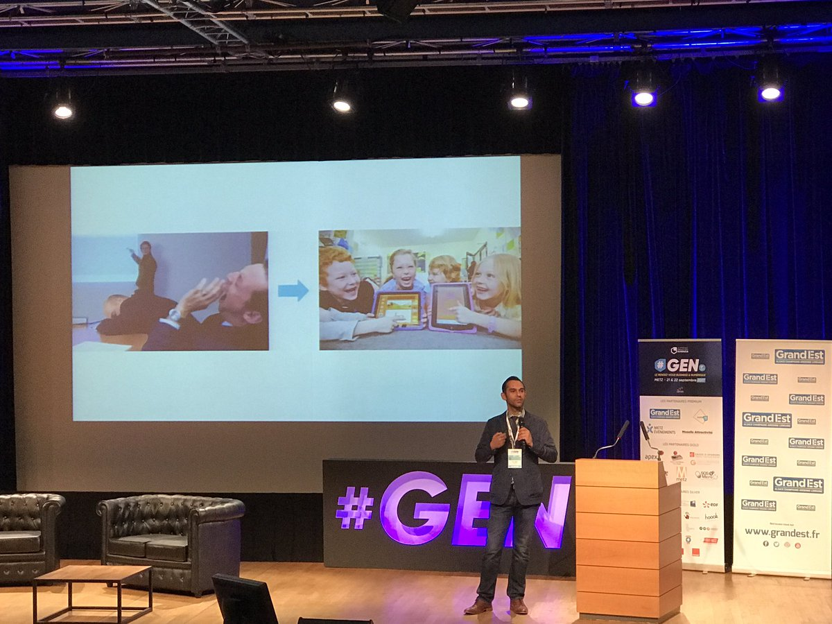 #GEN: Nasir Zubairi, CEO of @The_LHoFT is rocking the stage! Being in an #incubator is FUN, you meet a lot of exciting people #startup<br>http://pic.twitter.com/0G2lu6zpaL
