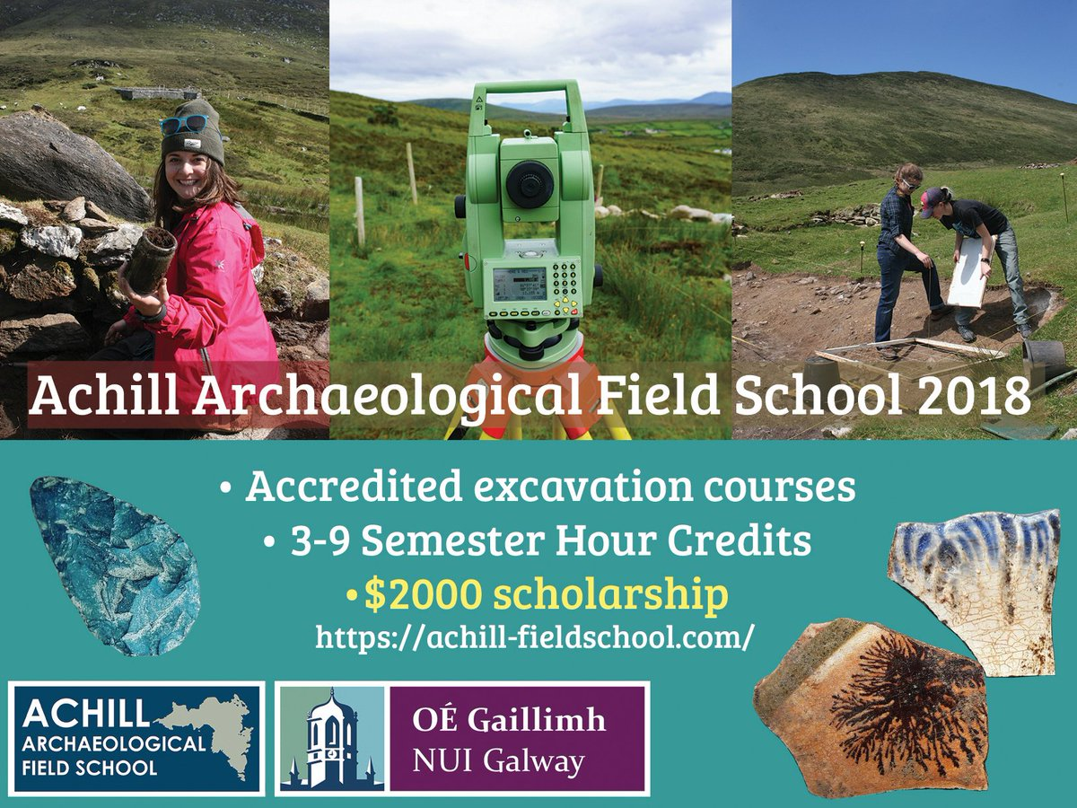 We&#39;re now taking bookings for 2018! #fieldschools2018 #archaeology #Anthropology #summerschool #trainingdig #Scholarship #Scholarships<br>http://pic.twitter.com/JpoM99qTk7