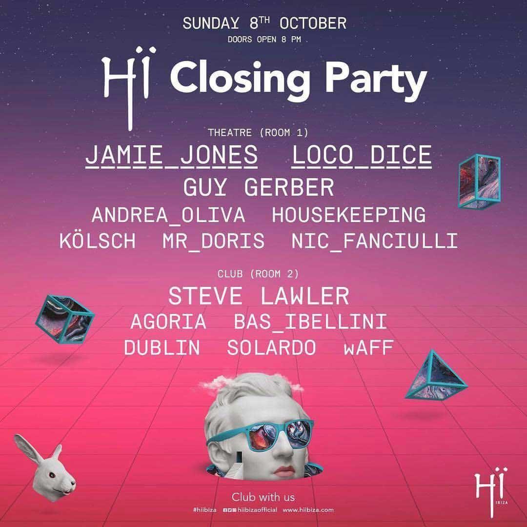 Into the rabbit hole: Mind control symbols @ HÏ Ibiza closing