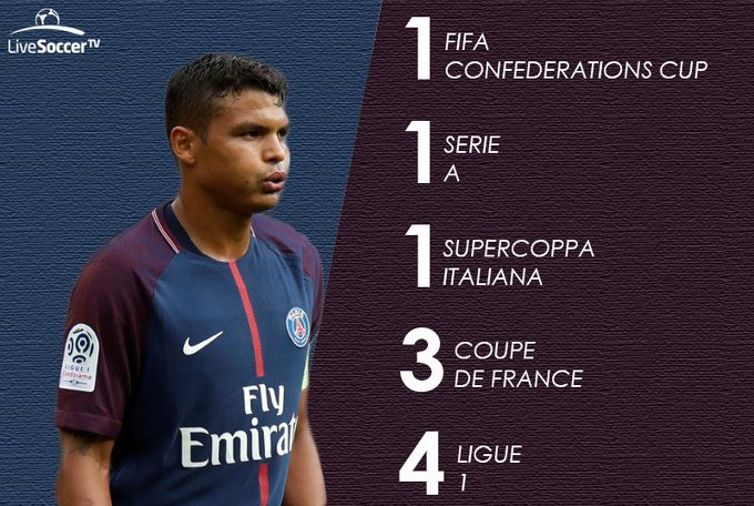 Happy birthday: captain Thiago Silva turns 33!