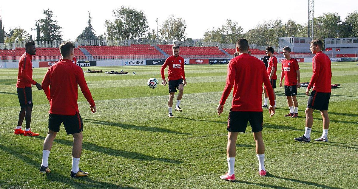 👀 ⚽️¡#AtletiSevillaFC a la vista! 🏋️ ¡Último entrenamiento en marcha!...
