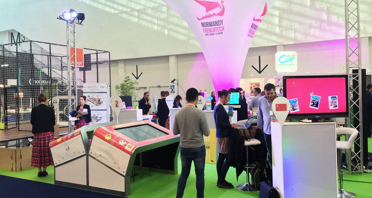 #FoiredeCaen : Village de l'#innovation Venez rencontrer les #startups qui font l'excellence de la filière #numérique de #Normandie https://t.co/YaIU5kfXSi