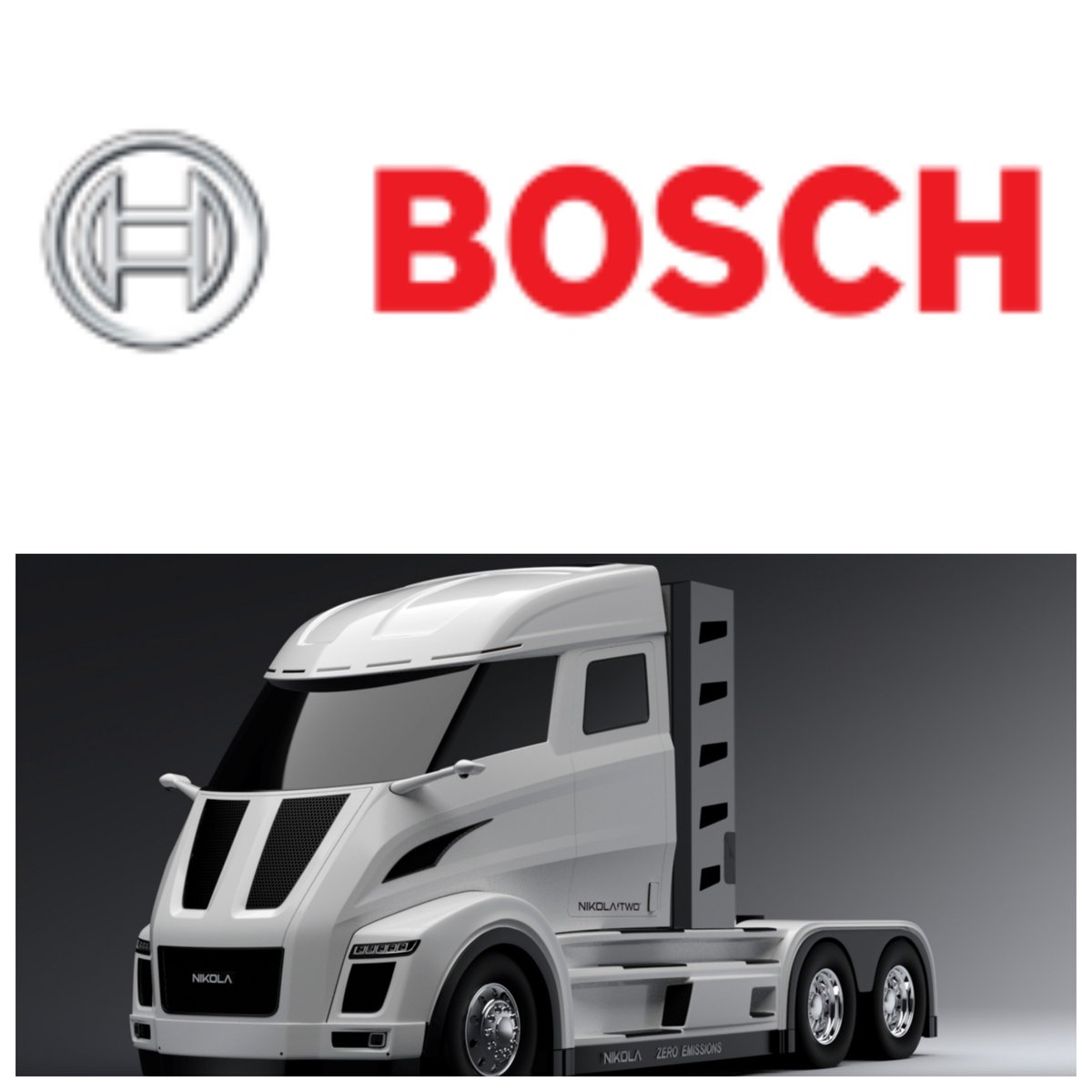 @nikolamotor and @BoschGlobal team on powertrain design for #hydrogen electric long-haul #trucks  http:// tcrn.ch/2fxvooe  &nbsp;  <br>http://pic.twitter.com/ornfHysRPf