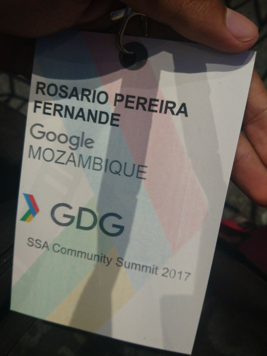 Representing #GDGSummit #Lagos #Google #Mozambique<br>http://pic.twitter.com/OXEGEXcAyC