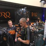 The first public day @CycleShow is now open and Stand D11 is starting to buzz!