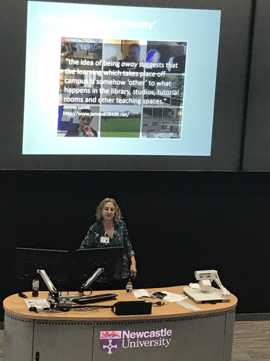 We're here today at #DarkSideofTEL2017 - first up @sbayne diving into the dark side of 'campus envy' and distance learning #MedEd <br>http://pic.twitter.com/VSP64pWhhp