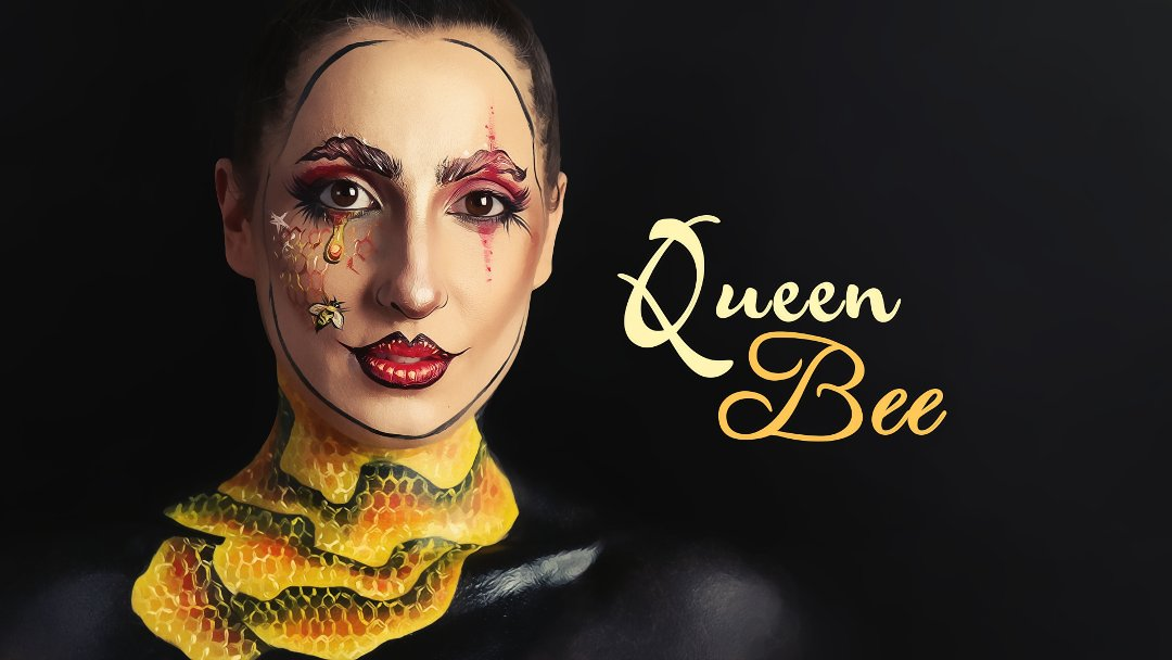 &quot;A bee is an exquisite chemist&quot; Royal Beekeeper to Charles II.   https:// youtu.be/SdqYWbhwugk  &nbsp;   #milk1422 #facecharts #mua #makeup #bee #honey #art<br>http://pic.twitter.com/7t4tunCv29