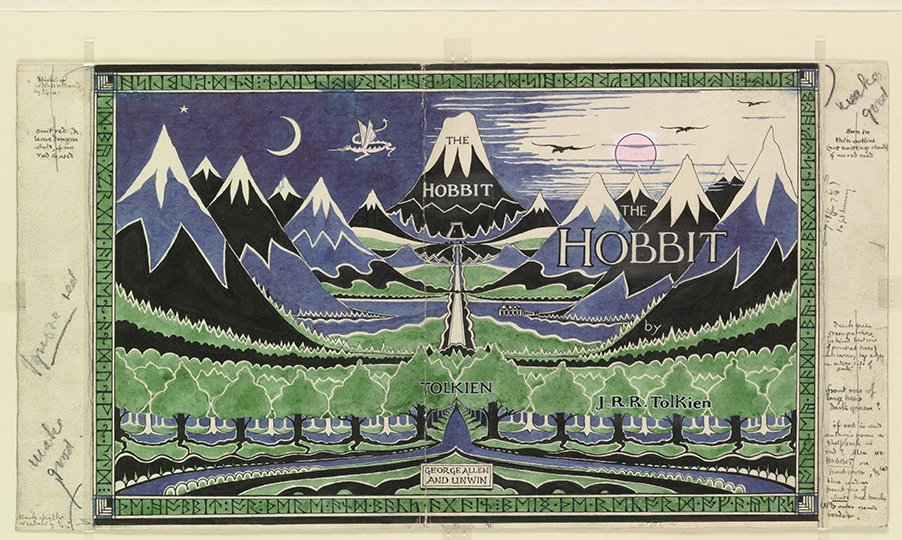 main elements of style in the hobbit by jrr tolkien
